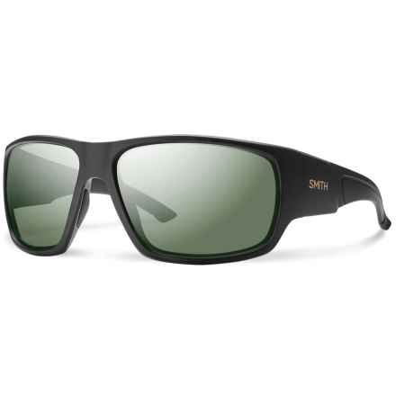 Smith Optics Dragstrip Sunglasses - Polarized in Matte Black/Gray Green - Closeouts