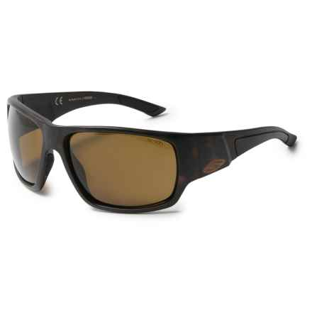 Smith Optics Dragstrip Sunglasses - Polarized in Matte Tortoise/Brown - Closeouts