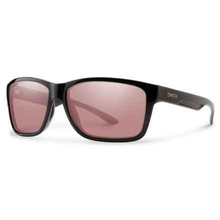 Smith Optics Drake ChromaPop® Sunglasses - Polarized, Photochromic in Black/Ignitor - Closeouts