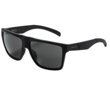 Smith Optics Edgewood Sunglasses - Carbonic Lenses in Impossibly Black/Blackout - Closeouts