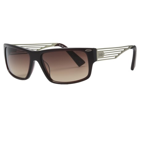 Smith Optics Editor Sunglasses in Matte Burgandy/Brown Gradient