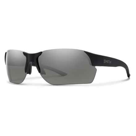 Smith Optics Envoy Max Sunglasses - ChromaPop® Polarized Lenses in Matte Back/Platinum - Closeouts