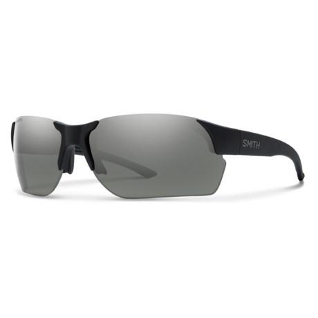 Smith Optics Envoy Max Sunglasses - ChromaPop® Polarized Lenses in Matte Back/Platinum