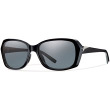 Smith Optics Facet Sunglasses - Polarized (For Women) in Black/Gray - Closeouts