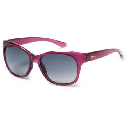 Smith Optics Feature Sunglasses (For Women) in Crystal Plum/Indigo Gradient - Closeouts