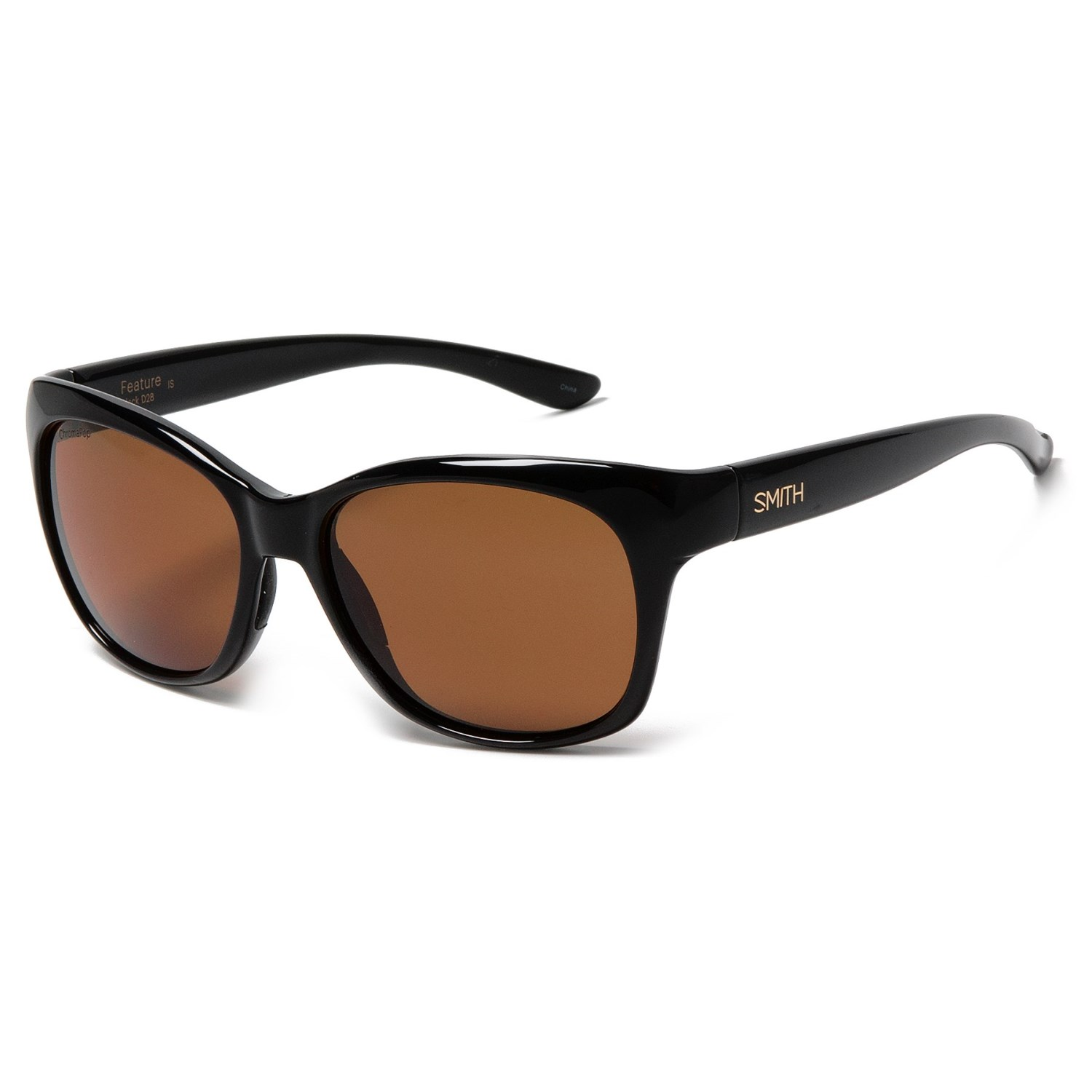 a7d3dcecf3d7 Smith Optics Feature Sunglasses - Polarized (For Women) in Black Brown. Tap  to expand