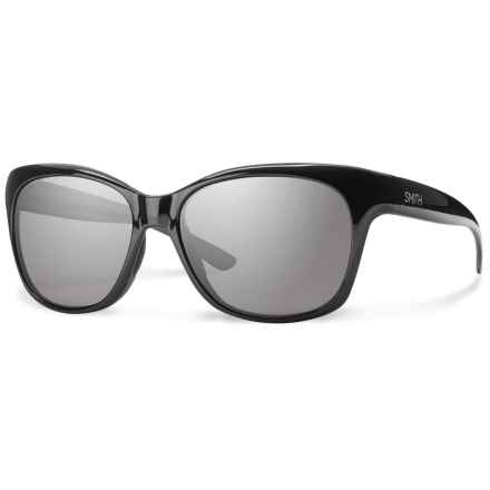 Smith Optics Feature Sunglasses - Polarized (For Women) in Black/Polar Gray - Closeouts