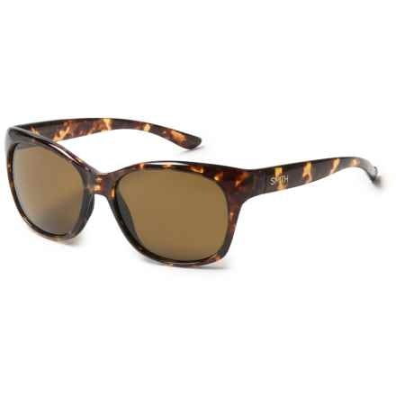 Smith Optics Feature Sunglasses - Polarized (For Women) in Tortoise/Brown - Closeouts