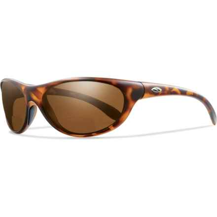 Smith Optics Fly By Readers Sunglasses - Polarized, Bi-Focal in Tortoise/Copper - Closeouts