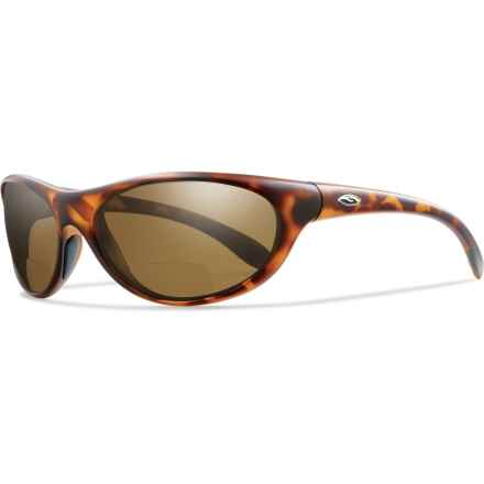 Smith Optics Fly By Readers Sunglasses - Polarized, Bi-Focal in Tortoise/Polar Brown - Closeouts
