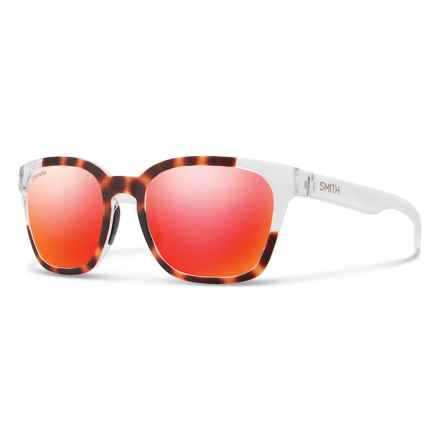 Smith Optics Founder Slim Sunglasses - ChromaPop® Lenses in Torotise/Sun Red - Overstock