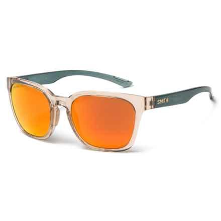 Smith Optics Founder Sunglasses - ChromaPop® Lenses in Desert Crystal Smoke /Sun Red Mirror - Overstock