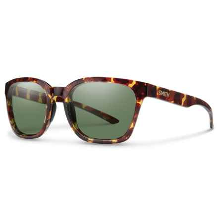 Smith Optics Founder Sunglasses - Polarized ChromaPop® Lenses in Tortoise/Gray/Green - Overstock