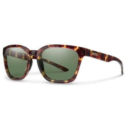 Smith Optics Founder Sunglasses - Polarized Lenses in Tortoise/Gray/Green - Overstock