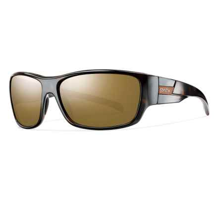 Smith Optics Frontman Sunglasses - Polarized ChromaPop Lenses in Tortoise/Bronze Mirror - Closeouts