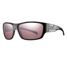 Smith Optics Frontman Sunglasses - Polarized, ChromaPop, Polarchromic Lenses in Black/Ignitor - Closeouts