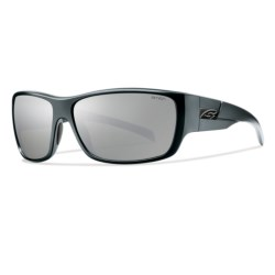 Smith Optics Frontman Sunglasses - Polarized in Matte Black/Polar Platnium