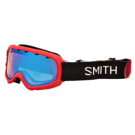 Smith Optics Gambler Air Ski Goggles (For Little and Big Kids) in Red Angry Birds/Blue Sensor - Closeouts