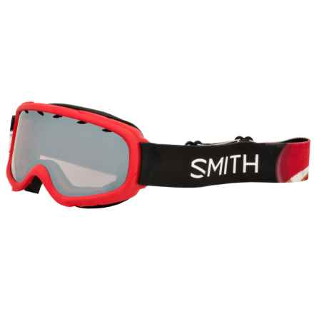 Smith Optics Gambler Air Ski Goggles (For Little and Big Kids) in Red Angry Birds/Ignitor - Closeouts