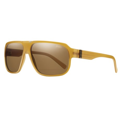 Smith Optics Gibson Sunglasses in Matte Honey/Brown