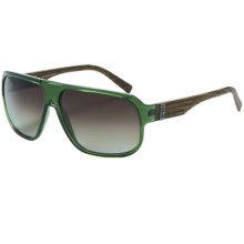 Smith Optics Gibson Sunglasses - Polarized in Green Wood/Polarized Brown Gradient - Closeouts
