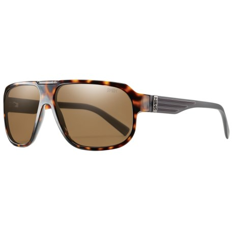 Smith Optics Gibson Sunglasses - Polarized in Havana/Polarized Brown
