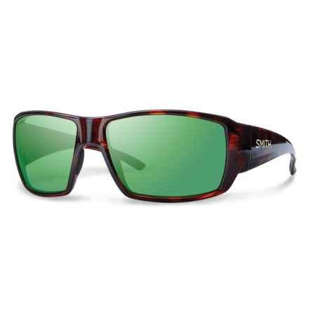 Smith Optics Guides Choice Techlite Sunglasses - Polarized Glass Lenses (For Men) in Havana/Green