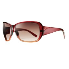 Smith Optics Hemline Sunglasses (For Women) in Scarlet Fade/Sienna Gradient - Closeouts