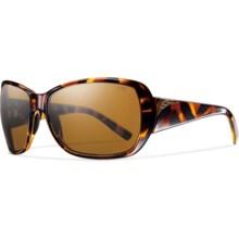 Smith Optics Hemline Sunglasses - Polarized (For Women) in Vintage Tortoise/Brown - Closeouts