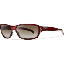 Smith Optics Heyday Sunglasses - Polarized (For Women) in Cranberry/Polarized Brown Gradient - Closeouts