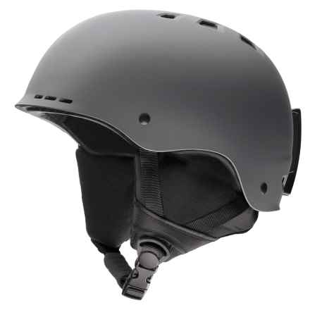 Smith Optics Holt Ski Helmet in Matte Charcoal - Closeouts