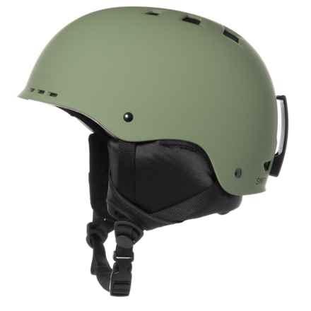 fcca9cf3 Smith Optics Holt Ski Helmet in Matte Olive - Closeouts