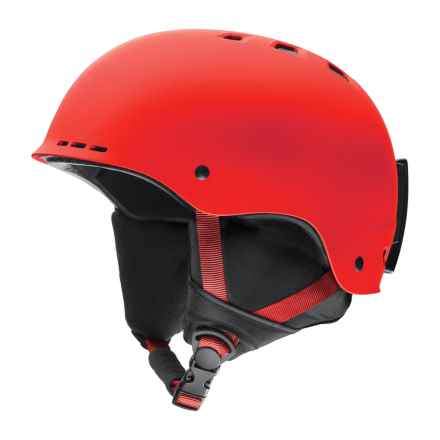 Smith Optics Holt Ski Helmet in Matte Sriracha - Closeouts