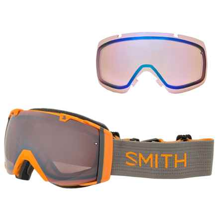 Smith Optics I/O Mirror Ski Goggles - Extra Lens in Solar/Ignitor/Blue Sensor - Closeouts