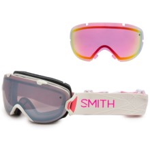 Smith Optics I/OS Snowsport Goggles - Extra Lens in Bright Sands/Ignitor - Closeouts