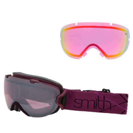 Smith Optics I/OS Snowsport Goggles - Interchangeable Lens in Blackberry Prism/Ignitor