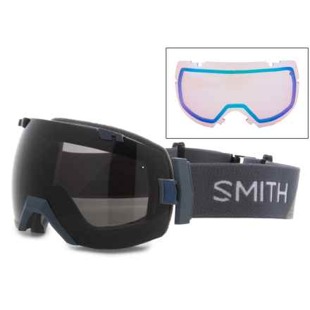 Smith Optics I/OX Interchangeable Ski Goggles - Extra Lens, Polarized in Chromapop Sun Black/ Thunder Split - Closeouts
