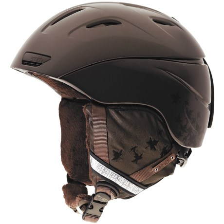 Smith Optics Intrigue Snowsport Helmet with BOA® System (For Women) in Bronze Fallen