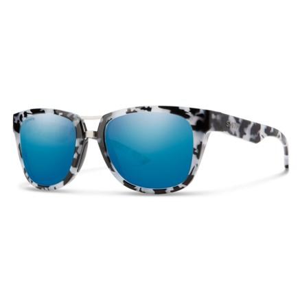 732132da20460 Smith Optics Landmark Sunglasses - Polarized ChromaPop® Mirrored Lenses  (For Men and Women)