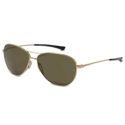Smith Optics Langley Sunglasses - Polarized ChromaPop® Lenses in Gold/Gray/Green - Overstock