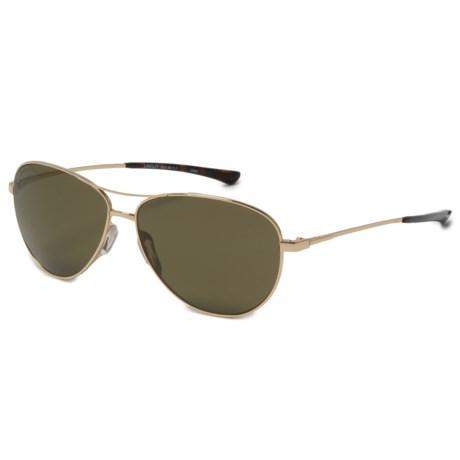 Smith Optics Langley Sunglasses - Polarized ChromaPop® Lenses in Gold/Gray/Green
