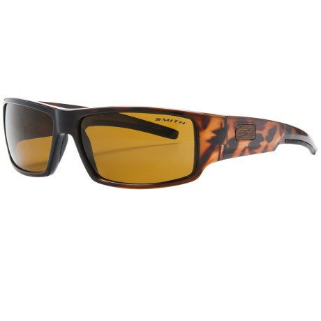 Smith Optics Lockwood Sunglasses - Polarized in Tortise/Brown