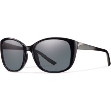 Smith Optics Lookout Sunglasses - Polarized (For Women) in Black/Gray - Closeouts
