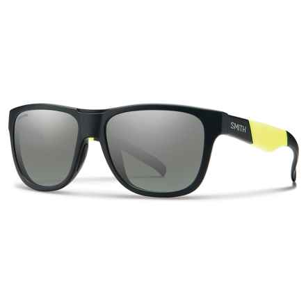 Smith Optics Lowdown Slim Sunglasses - ChromaPop® Lenses in Matte Black/Platnium - Overstock