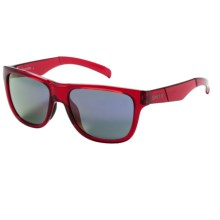 Smith Optics Lowdown Slim Sunglasses in Crystal Red/Purple Sol-X - Closeouts