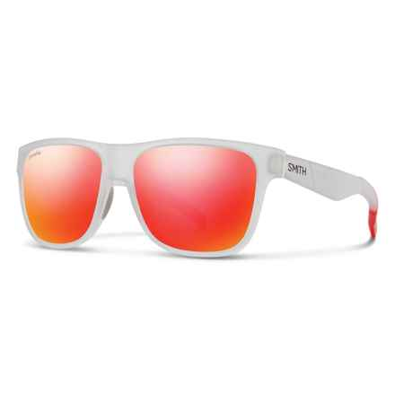 Smith Optics Lowdown Sunglasses - ChromaPop® Lenses in Matte  Crystal Red/Sun Red - Overstock