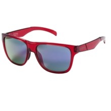 Smith Optics Lowdown Sunglasses in Crystal Red/Purple Sol-X - Closeouts