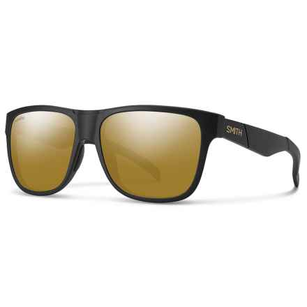 Smith Optics Lowdown Sunglasses - Polarized in David Lulz Bronze - Closeouts