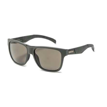 Smith Optics Lowdown Sunglasses - Polarized in Matte Olive/ Gray/Green - Closeouts