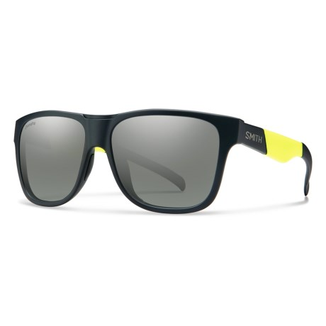 a2be3840e60 Smith Optics Lowdown XL Sunglasses - ChromaPop® Lenses (For Men) in Matte  Black